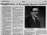 James M. Buchanan on Keynesian economics