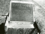 Plaque at Lake Anne