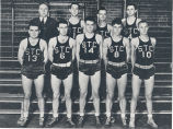 Basketball team, 1940