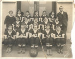 Women's basketball team, 1925