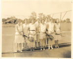 Women's tennis team, 1931-32