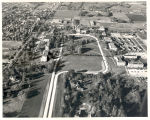 Aerial of campus prior to 1958