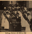 Suffrage workers at MTN in 1918