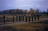 College Training Detachment : dress parade