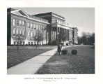 Kirksey Old Main building postcard