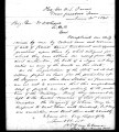H. P. Van Cleve to M. D. Whipple, June 21, 1865
