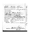 Account application for Milton Childers,