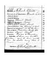 Account application for Robert Elliott