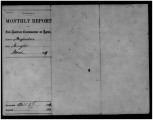 Monthly Report, March 1869