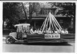 Blue Ribbon float