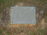 Major Ridge Home: commemorative plaque