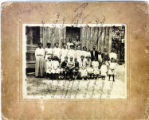 Craigs Chapel AME Zion Church: 1914 school photo
