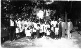 Craigs Chapel AME Zion Church: historical photo of congregation