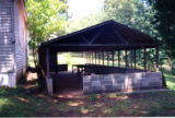 Hackney Chapel AME Zion Church: picnic shelter