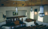 Bethel Baptist Church: sanctuary viewed from balcony