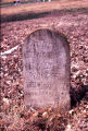 Golden Hill Cemetery: tombstone of Tennie Meriwether