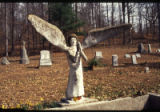 E.T. Wickham roadside park and Wickham Cemetery: angel