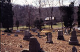 E.T. Wickham roadside park and Wickham Cemetery: family cemetery and home
