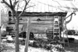 Neblett Place Farm: wood outbuilding side view