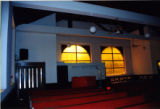 Guildfield Missionary Baptist Church: view of the entrance to the sanctuary