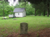 Barrs Chapel CME church: cemetery and school