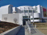 High Museum of Art: entrance from Peachtree