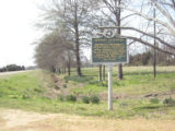 Dockery Plantation: historic marker sign