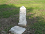 Dockery Plantation: Wash Black tombstone