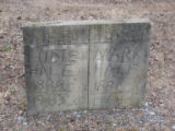 Free Hills Cemetery: Ludie and Mark Hale tombstone
