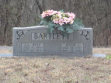 Free Hills Cemetery: Bartlett tombstone