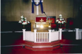 Pikeville Chapel AME Zion Church: interior with altar