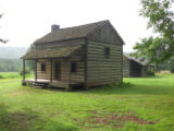 Red Clay State Historic Park: Cherokee farm house replica