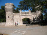Chattanooga Civil War properties: Battle of Lookout Mountain Point Park gate