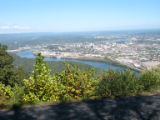 Chattanooga Civil War properties: Point Park view