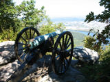 Chattanooga Civil War properties: cannons at Point Park