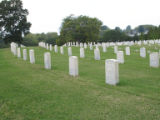 Chattanooga Civil War properties: ranks of graves at Chattanooga National Cemetery