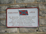 Chattanooga Civil War properties: Confederate Cemetery Pavilion sign