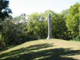 Chattanooga Civil War properties: 2nd Minnesota Monument at Missionary Ridge