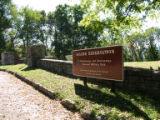 Chattanooga Civil War properties: National Park Service marker for DeLong Reservation at...