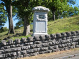 Chattanooga Civil War properties: 75th Pennsylvania Infantry Volunteers monument at Orchard Knob