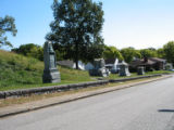 Chattanooga Civil War properties:  monument row at Orchard Knob
