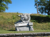 Chattanooga Civil War properties: Battery E Pennsylvania Volunteers monument at Orchard Knob.