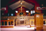St. Paul AME Church: interior view of chancel