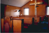 St. Paul AME Church: detail of choir benches