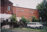 Sardis Baptist Church: rear of building