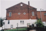 Sardis Baptist Church: rear view