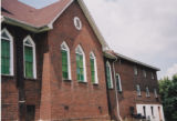 Mount Ararat Baptist Church: side view with windows
