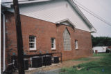 Oak Street Baptist Church: east facade of addition