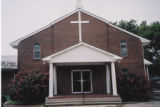 Oak Street Baptist Church: front view