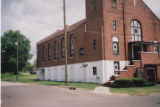 Bethel African Methodist Episcopal Church: view of front and side